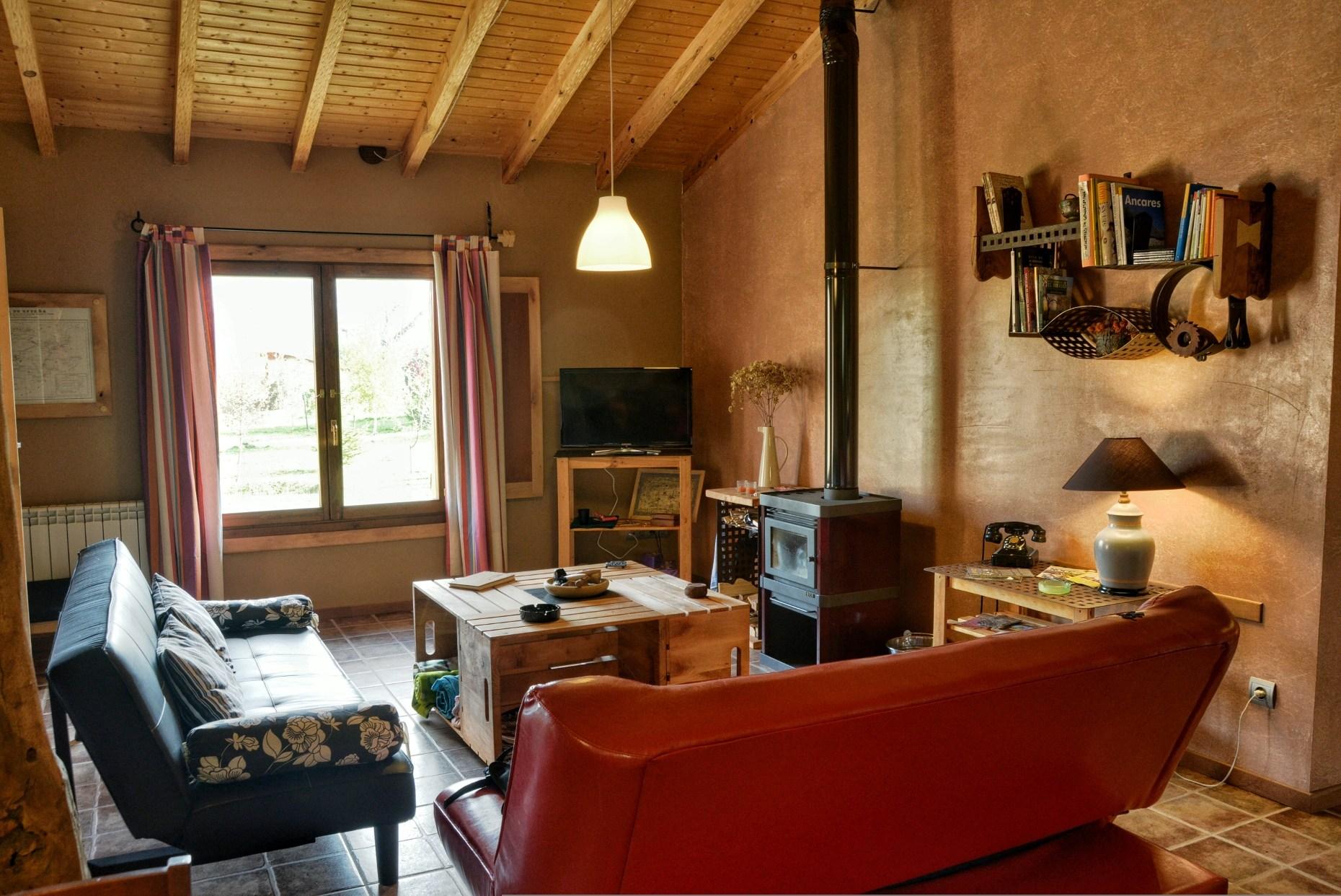 Casa rural El Encanto - El Mayulon - Acogedor y luminoso salon