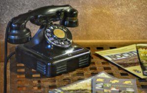 Casa rural - El Mayulon - Telefono antiguo