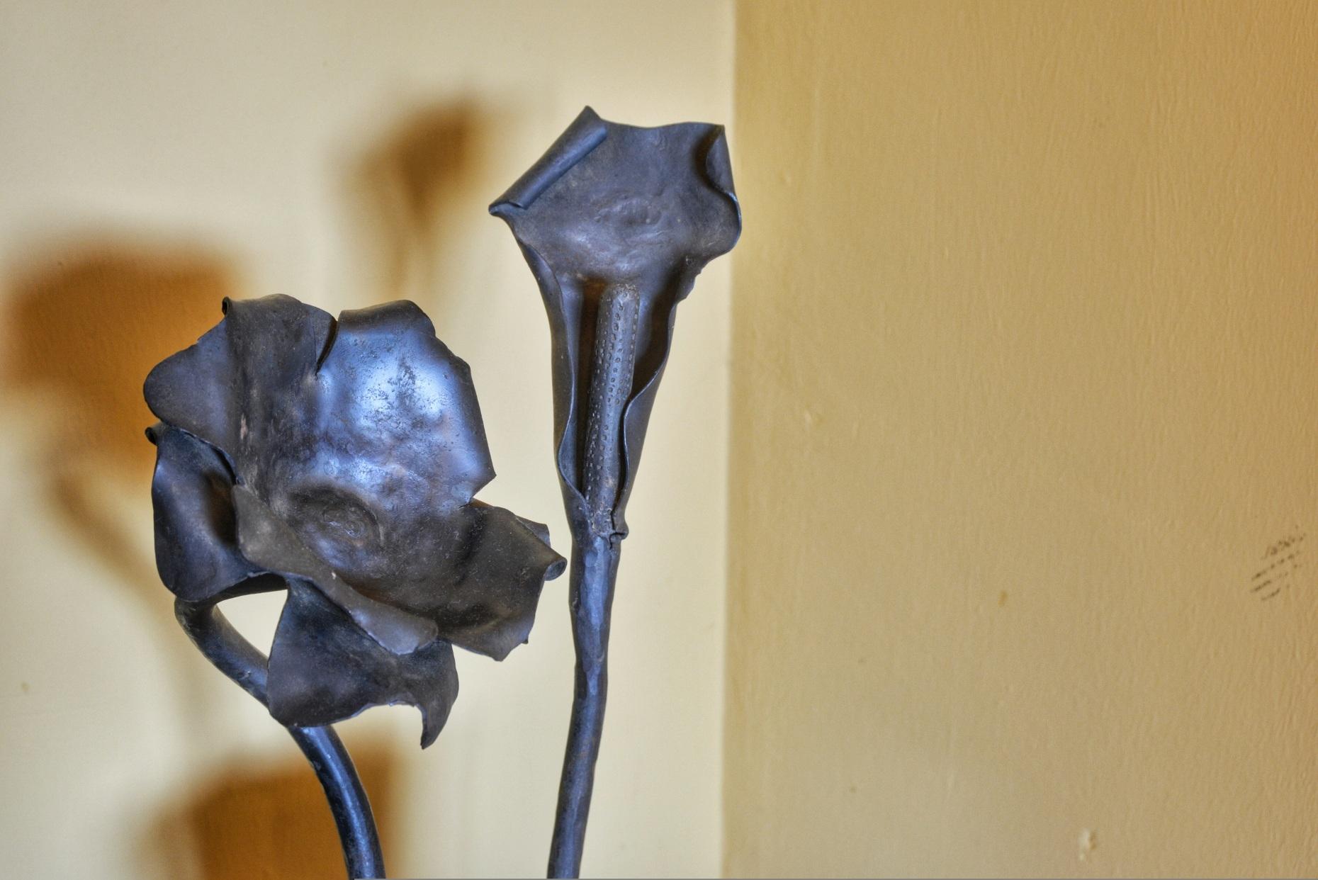 Casa rural El Encanto - El Mayulon - Detalle de decoración artesana en metal