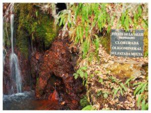 Ruta de las Fuentes medicinales de Noceda