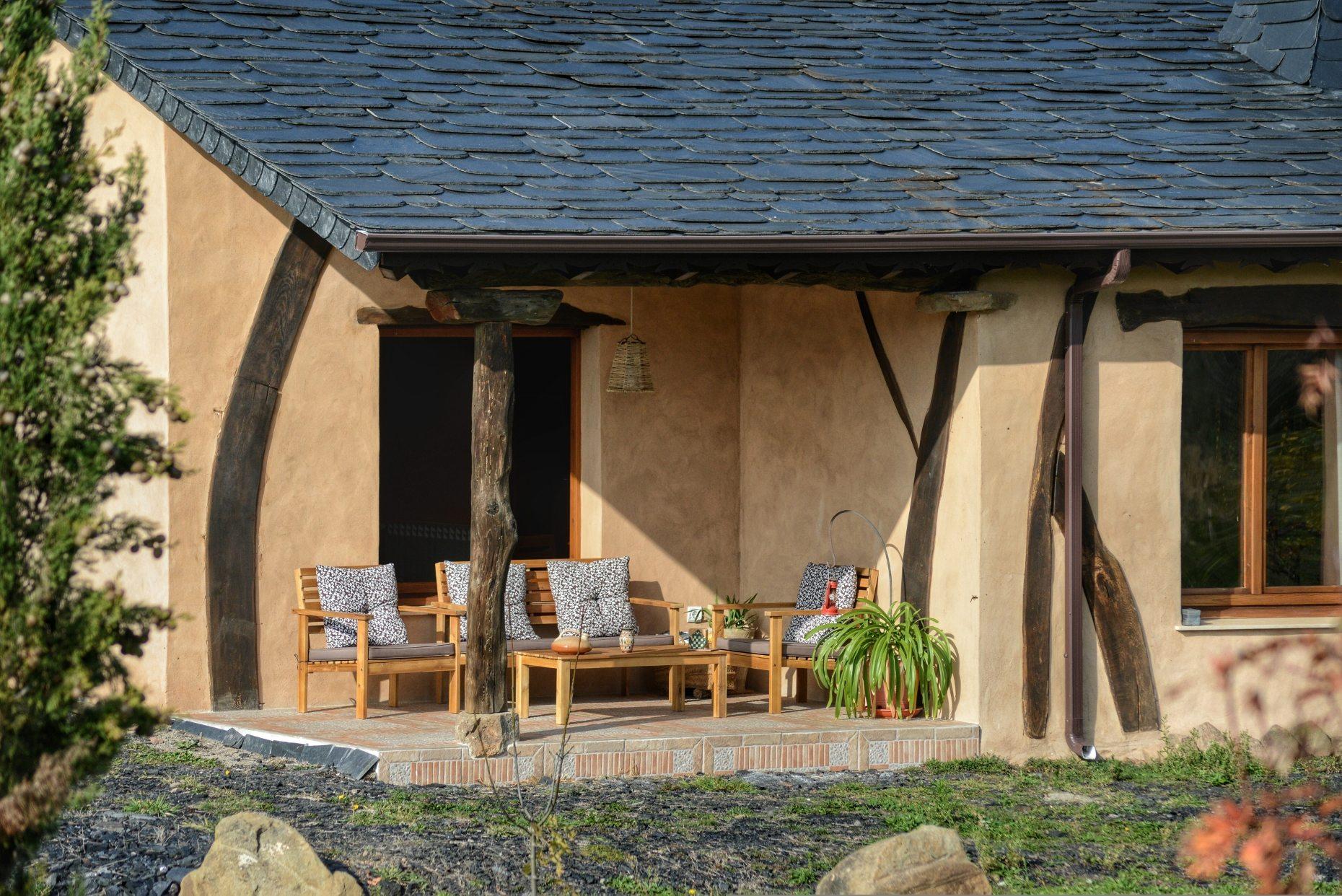 Casa rural El Encanto - El Mayulon - Soleada terraza con ambiente especial