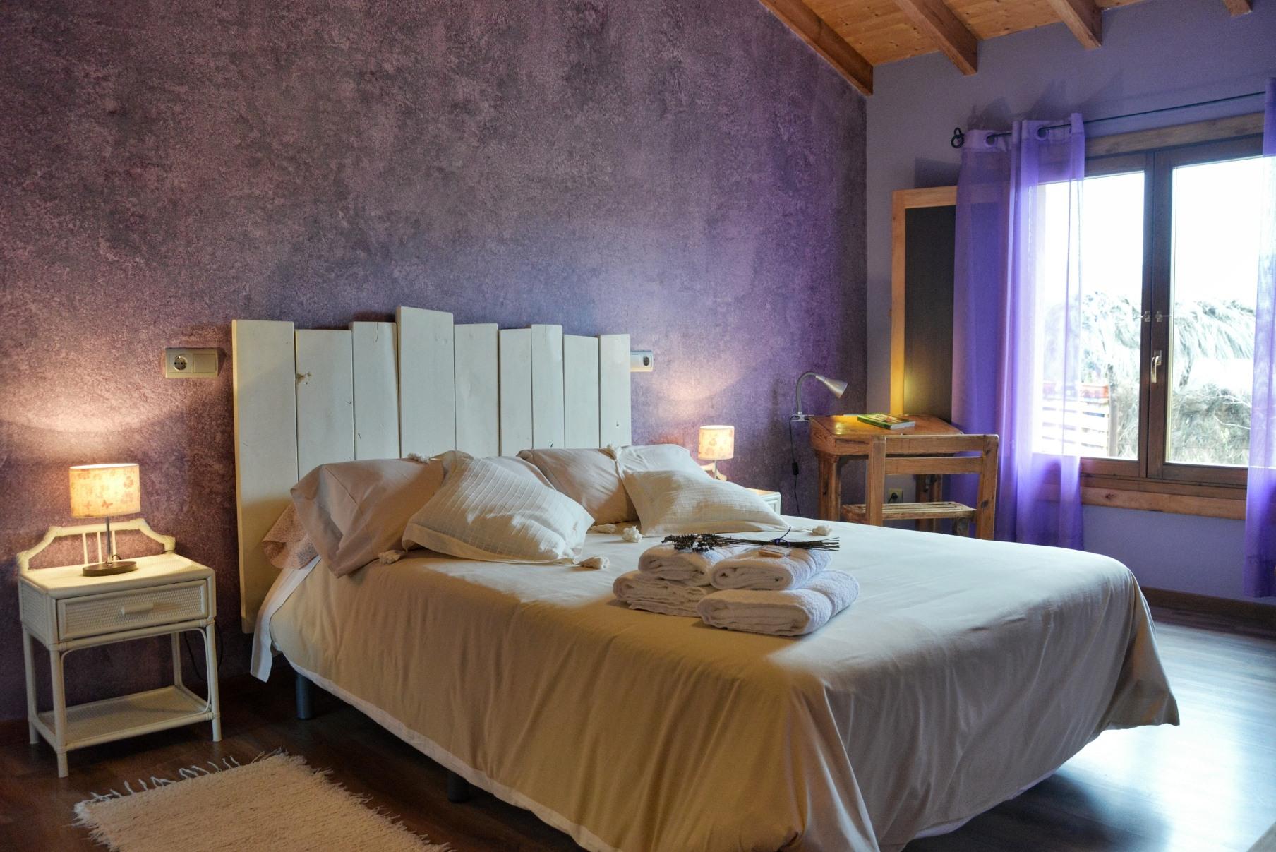 Casa rural La Magia - El Mayulon - Amplia y encantadora habitacion dormitorio