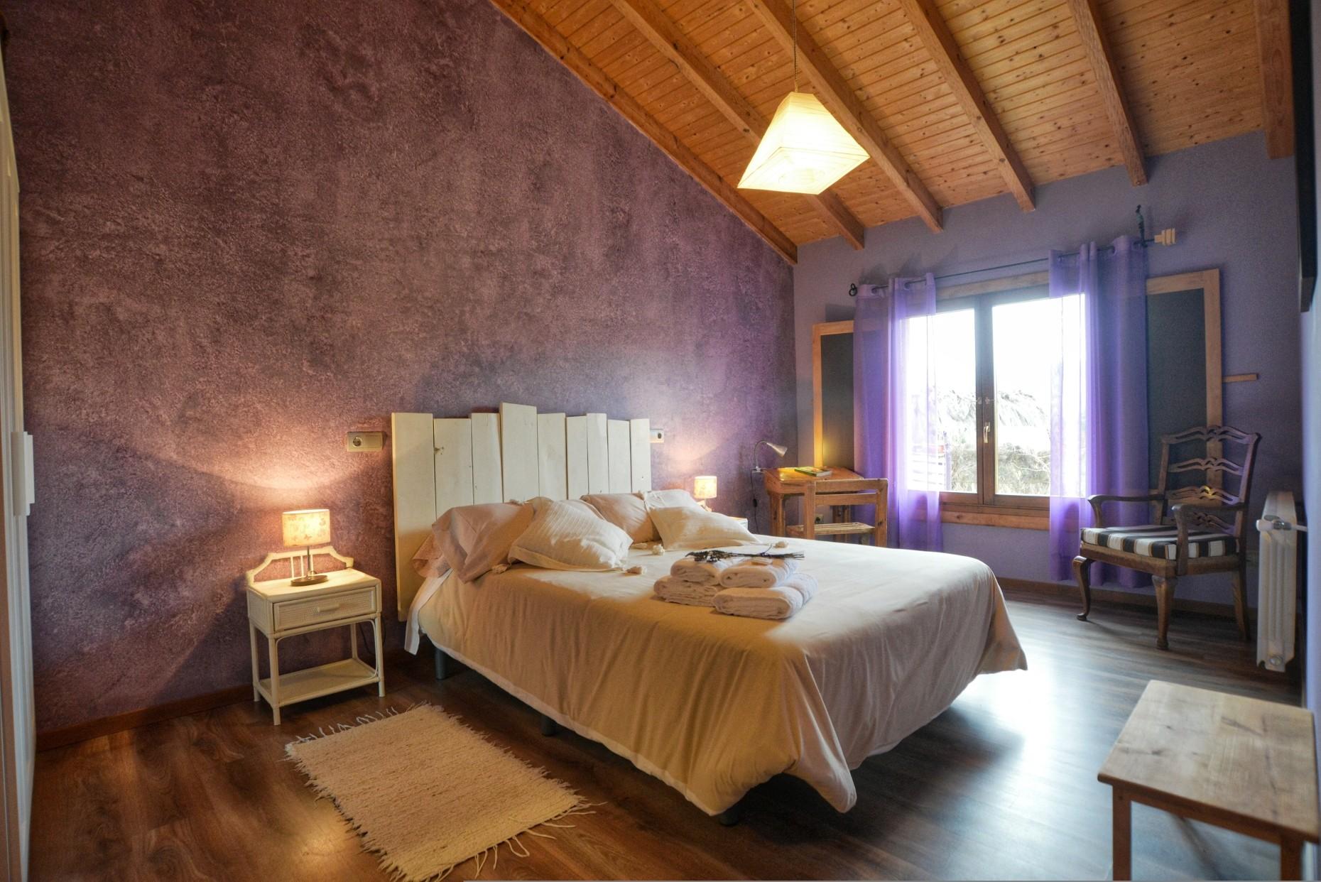 Casa rural La Magia - El Mayulon - Luminosa habitacion dormitorio
