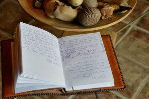 Casa rural La Magia - El Mayulon - Notas de agradecimieto de nuestros huéspedes
